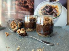Fit krem czekoladowy z kokosową kruszonką