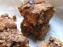 Flapjack- ciasto owsiane z czekoladą