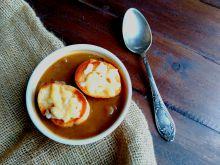 Francuska zupa cebulowa a`la Igraszki Losu