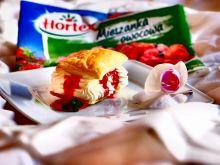 Francuskie ciastka ze śmietaną