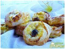 Francuskie ślimaczki serowe
