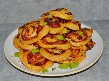 Francuskie ślimaczki z serem i szynką