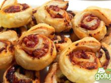 Francuskie ślimaki o smaku pizzy