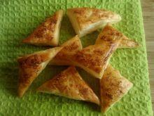Francuskie trójkąciki z nutą kokosu