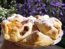 Francuskie ciasteczka z dżemem i morelą