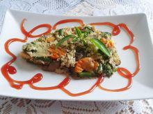 Frittata z warzywami na patelnię