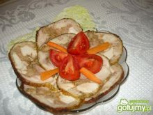 Galantyna z kurczaka Danusi