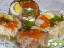 Galareta z jajkiem