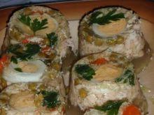 Galaretka mięsna z jajkiem