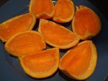 Galaretka w pomarańczach