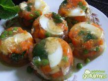 Galaretka z jajkami