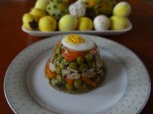 Galaretka z warzywami i kurczakiem
