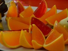 Galaretki z pomarańczy