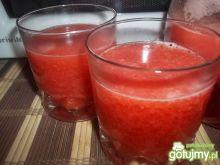Galaretkowy napój truskawkowy