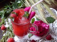 Gazowany sok malinowy