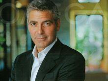 George Clooney i jego Kurczak z brandy