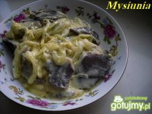 Gęsie żołądki w cebulowym sosie