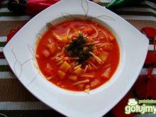 Gęsta pomidorowa z lubczykiem -