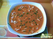 Gęsta zupa pomidorowo marchewkowa