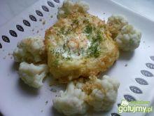 Gniazda ziemniaczane z jajkiem i serem