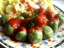 Gniocchi z ziemniaków i szpinaku