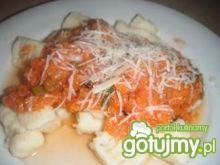Gnocchi z sosem z cukinii