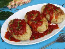 Gołąbki bez zawijania z sosem pomidorowym