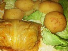 Gołąbki duszone z ziemniakami