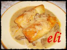 Gołąbki Eli z sosem grzybowym