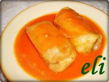 Gołąbki Eli z sosem pomidorowym
