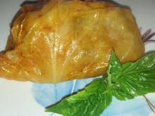 Gołąbki mięsne z kaszą