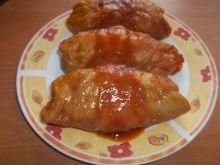 Gołąbki mięsno - jajeczne z ryżem