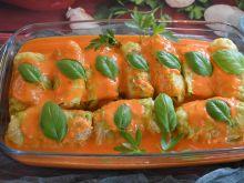 Gołąbki w sosie paprykowym z serem