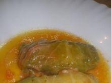 Gołąbki z kapusty pekińskiej.