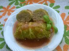 Gołąbki z mięsem mielonym i kaszą jaglaną