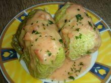 Gołąbki z mięsem z włoskiej kapusty