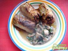 Gołąbki z młodej włoskiej kapusty