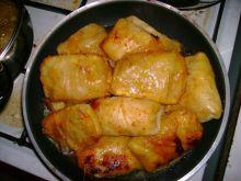 Gołąbki z piersi kurczaka..