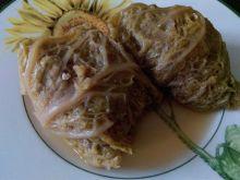 Gołąbki z ryżem i suszonymi grzybami