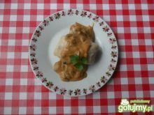 Gołąbki z ryżem oraz grzybami