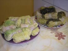 Gołąbki z włoskiej kapusty