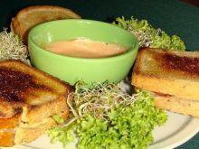 Gorące kanapki ze swojską szynką