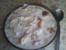 Gotowana bułka w mleku