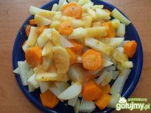 Gotowana marchewka z kalarepą