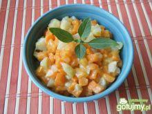 Gotowana marchewka z kalarepką