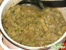 Gotowana młoda kapustka