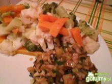 Gotowane warzywa do obiadu
