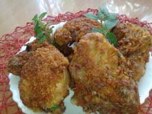 Gotowany kurczak w panierce kokosowej