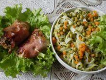 Gotowany kurczak w wędzonce :