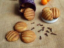 Goździkowo-pomarańczowe ciasteczka maślane